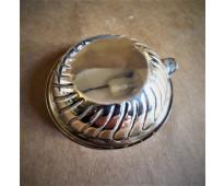 Dos ceniceros de plata 925 sellada y en su estuche original