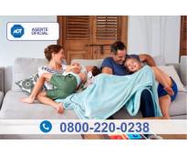 Alarma monitoreada para casas 0800-220-0238 adt
