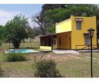 Casa / cabaña (villa del parque) villa rumipal valle de calamuchita...