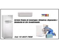 Servicio técnico de lavarropas en ezeiza 42981212