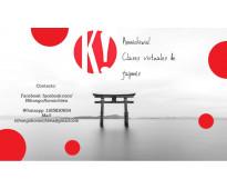 Clases de idioma japonés