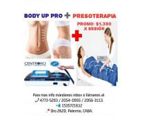 Body up + presoterapia  palermo