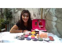 Maquillaje artistico especial halloween virtual o a domicilio