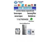 Servicio tecnico de electrodomesticos