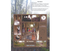 Se vende casa de adobe en las sierras de córdoba