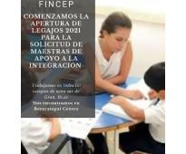 Servicio maestra de apoyo a la integracion/acompañante terapeutico