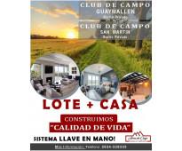 Lote + casa