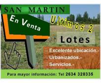 Lotes en San Martin
