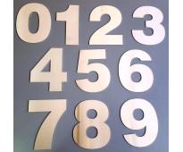 Números de metal para fachadas en ministro brin