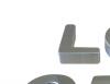 Letras en acero inoxidable números y logotipos en ministro brin