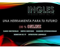 Cursos de Inglés ONLINE Todos los Niveles