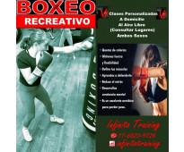 Clases de boxeo recreativo - a domiclio o al aire libre