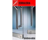 Cerrajero puertas blindex en Villa de Mayo // 15-5044-4906 // cerrajería 24 hs a...