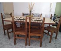 Mesa y sillas/ mesa tv/ mesa ratona/ banqueta para desayunador