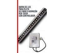 Luces led (barra)55 cm pileta de fibra/horm rgb con controlador