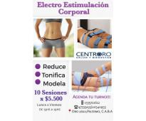 Electroestimulacion corporal- tratamiento estético