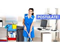 Personal femenino para limpieza c/retiro