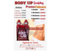 Body up sculpting doble cabezal/ centro oro salud y bienestar