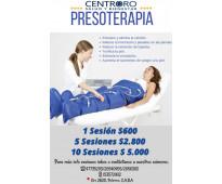Presoterapia secuencial- centro oro salud y bienestar - palermo