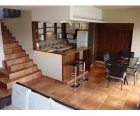 Excelente casa en venta en villa carlos paz, 3 dormitorios, pileta, vista panorá...