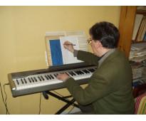 Iniciacion - armonía - composicion - clases particulares en palermo