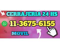 Cerrajería hogar-automotor 11*3675*6155