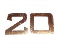Números de acero amplia gama de productos