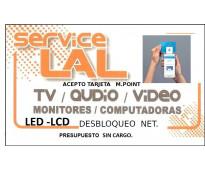 Servicio técnico tv y computadoras..