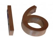 Números en acero para fachadas en calle armenia valentín alsina