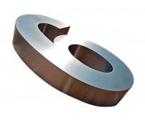 Números de acero para comercios en av. 25 de mayo