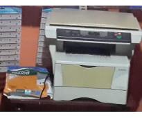 Fotocopiadora, plastificadora y otros