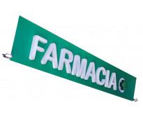 Vinilos para letreros publicitarios de farmacias en varela
