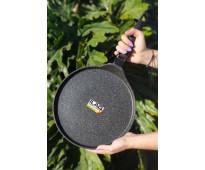 Panquequera de aluminio fundido multiuso de 28 cm con mango removible - antiadhe