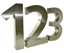 Números brillantes puerta de mi casa rosario