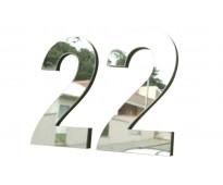 Números de casas escalada oeste
