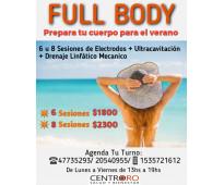 Tratamiento estetico full body