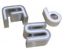 Letras de chapa para pintar santa fe