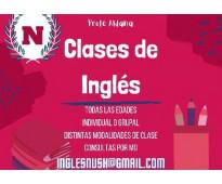 Profesora de ingles e italiano