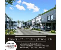 Miralejos 17, en villa carlos paz, nuevo proyecto de departamentos triplex & con...