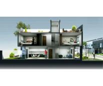Miralejos 17, en villa carlos paz, nuevo proyecto de departamentos triplex & con