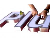 Letras para fabricas de plástico