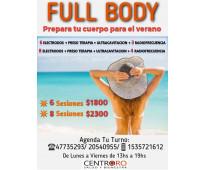 Full body  tratamiento corporal - palermo