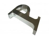 Logo de acero con varillas burzaco