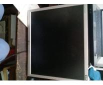 Monitor color lg  l1753s digital fine control lcd 17 pulg como nuevo