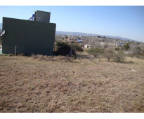 Muy lindo terreno con vista panorámica, en villa parque san roque (tanti), a 150