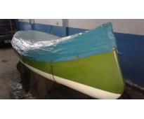 Canobote 3,80 mts 3 asientos muy buen estado-40,000 pesos