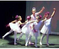 Clases danza y pintura niños, jóvenes y adultos sábados, sur, medias becas