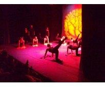 Clases danza jóvenes y adultos, sábados, sur, media beca