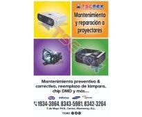 Epson proyectores: mantenimiento, reparación y venta