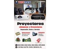 Panasonic proyectores, reparacion y mantenimiento
